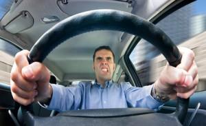 Stress as road rage
