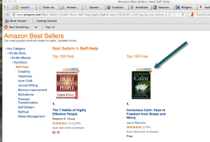 Conscious Calm: Keys to Freedom from Stress and Worry at #1 in Self Help Free