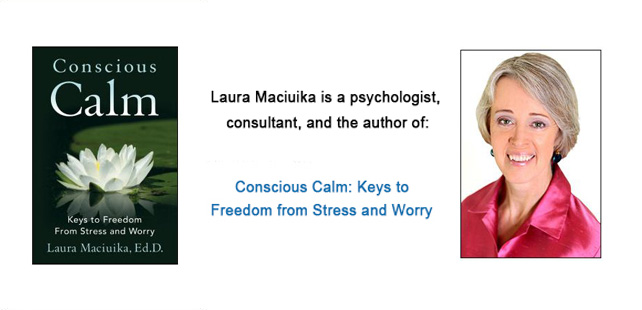Laura Maciuika, Author of Conscious Calm