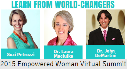 Dr Laura Maciuika at 2015 Empowered Woman Summit